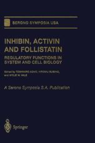 Inhibin, Activin and Follistatin
