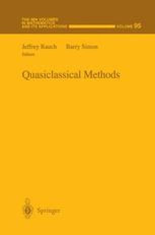 Quasiclassical Methods