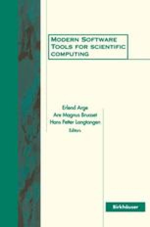 Modern Software Tools for Scientific Computing