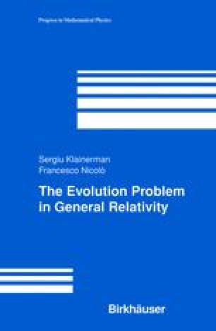 The Evolution Problem in General Relativity