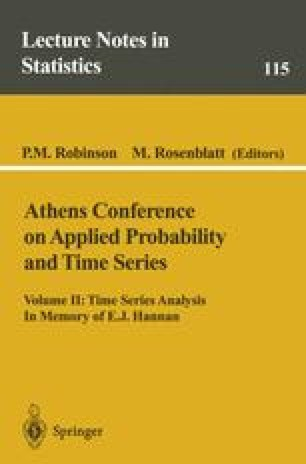 Athens Conference on Applied Probability and Time Series Analysis