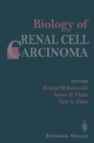 Biology of Renal Cell Carcinoma