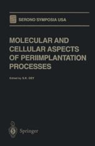 Molecular and Cellular Aspects of Periimplantation Processes