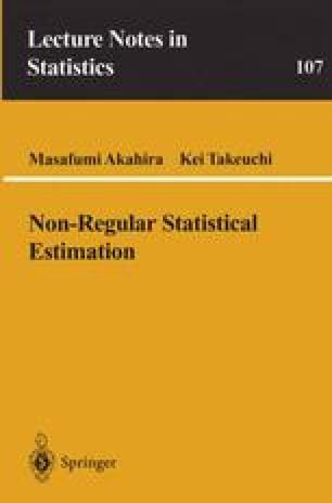 Non-Regular Statistical Estimation