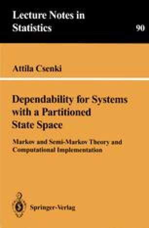 Dependability for Systems with a Partitioned State Space