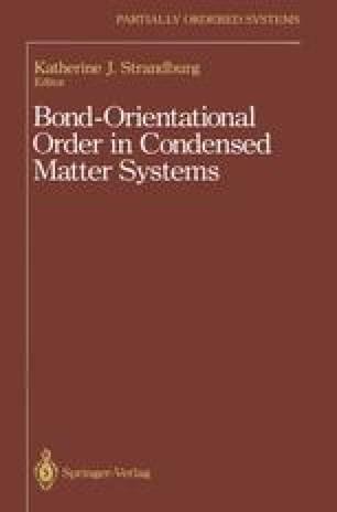 Bond-Orientational Order in Condensed Matter Systems