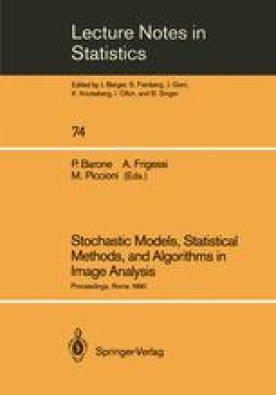 Stochastic Models, Statistical Methods, and Algorithms in Image Analysis