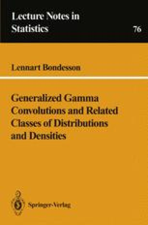 Generalized Gamma Convolutions and Related Classes of Distributions and Densities