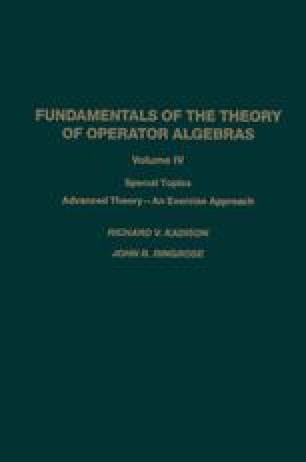 Fundamentals of the Theory of Operator Algebras