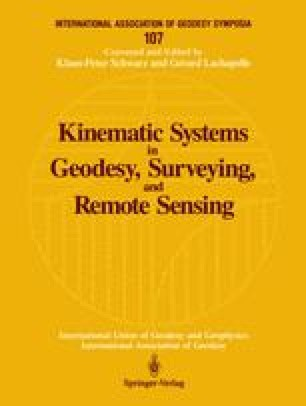 Kinematic Systems in Geodesy, Surveying, and Remote Sensing