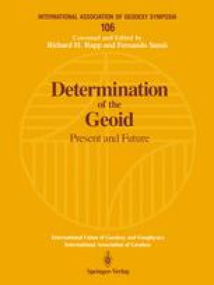 Determination of the Geoid