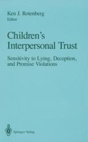 Children's Interpersonal Trust