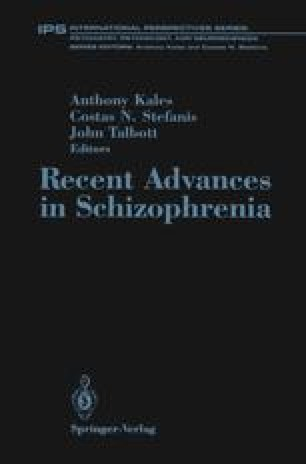 Recent Advances in Schizophrenia