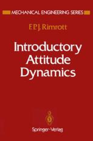 Introductory Attitude Dynamics