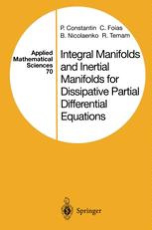 Integral Manifolds and Inertial Manifolds for Dissipative Partial Differential Equations