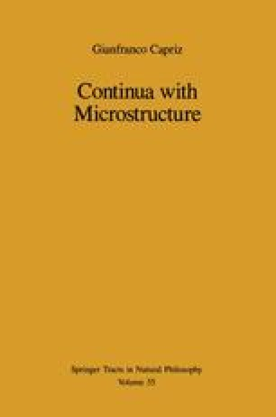 Continua with Microstructure