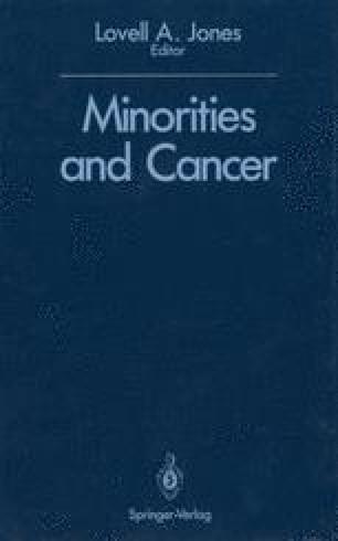 Minorities and Cancer