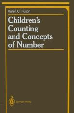 Children's Counting and Concepts of Number