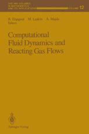 Computational Fluid Dynamics and Reacting Gas Flows