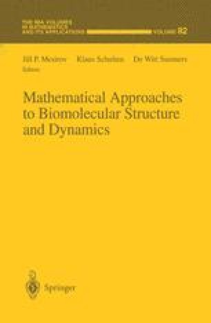 Mathematical Approaches to Biomolecular Structure and Dynamics