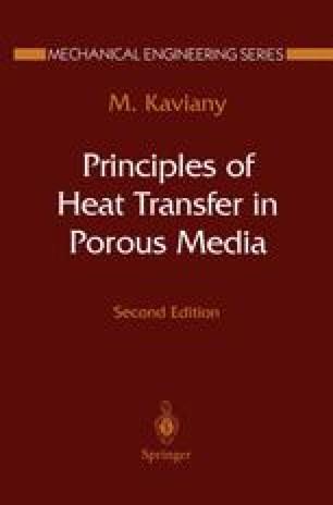 Principles of Heat Transfer in Porous Media