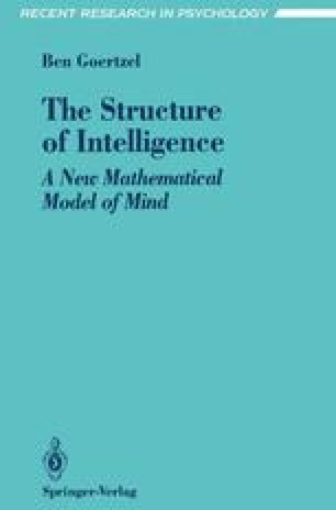 The Structure of Intelligence
