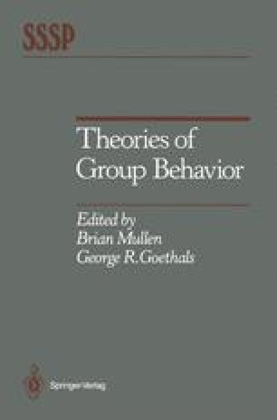 Theories of Group Behavior