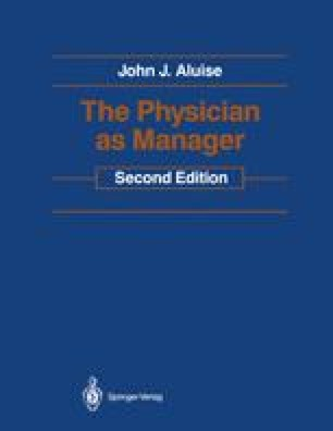 The Physician as Manager