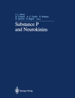 Substance P and Neurokinins
