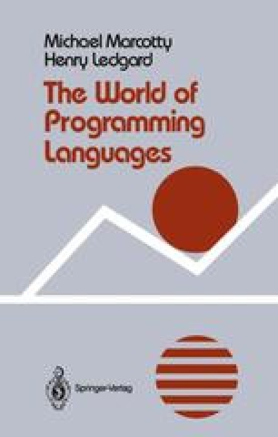 The World of Programming Languages