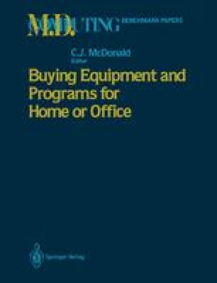 Buying Equipment and Programs for Home or Office