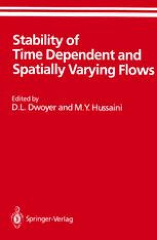 Stability of Time Dependent and Spatially Varying Flows