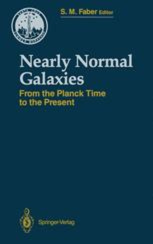 Nearly Normal Galaxies