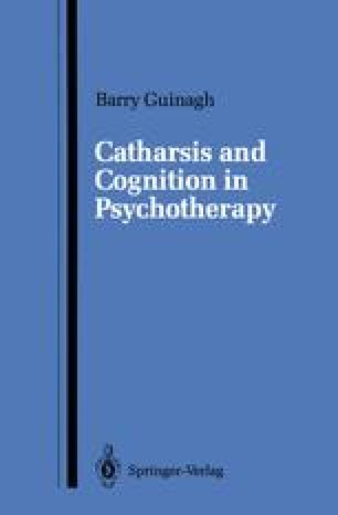 Catharsis and Cognition in Psychotherapy