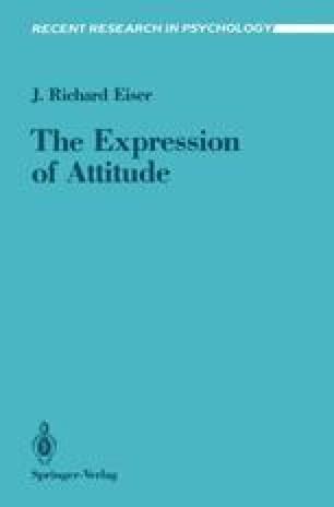 The Expression of Attitude