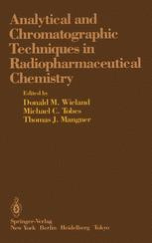 Analytical and Chromatographic Techniques in Radiopharmaceutical Chemistry