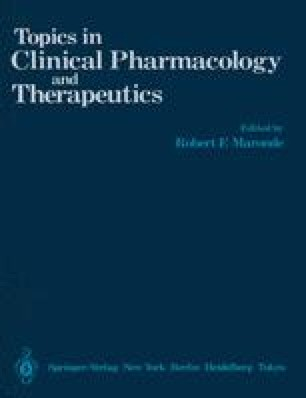 Topics in Clinical Pharmacology and Therapeutics