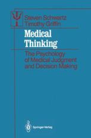 Medical Thinking