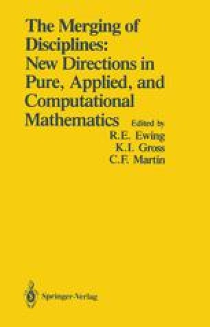 The Merging of Disciplines: New Directions in Pure, Applied, and Computational Mathematics