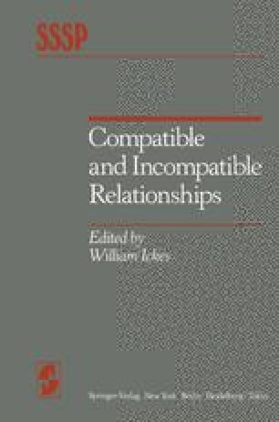 "Incompatibility, Loneliness, and ""Limerence"" 