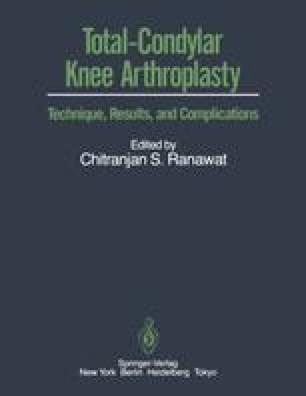 Total-Condylar Knee Arthroplasty