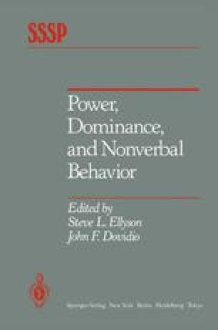 Power, Dominance, and Nonverbal Behavior