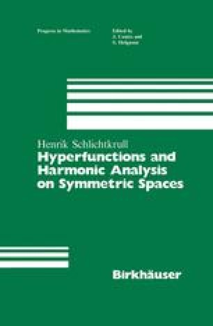 Hyperfunctions and Harmonic Analysis on Symmetric Spaces