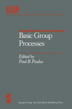 Basic Group Processes