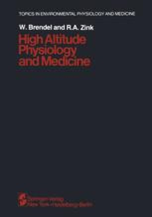 High Altitude Physiology and Medicine