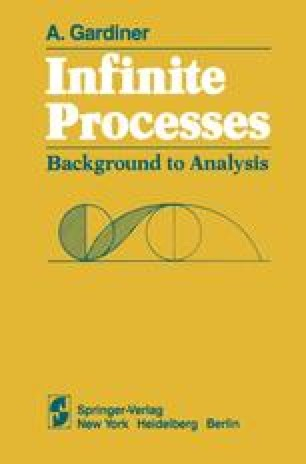 Infinite Processes