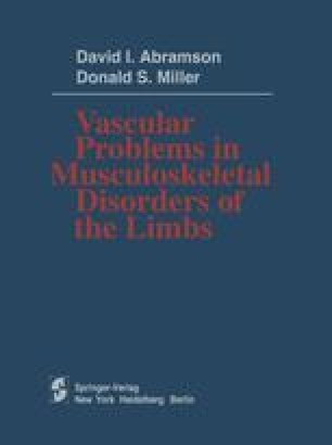 Vascular Problems in Musculoskeletal Disorders of the Limbs
