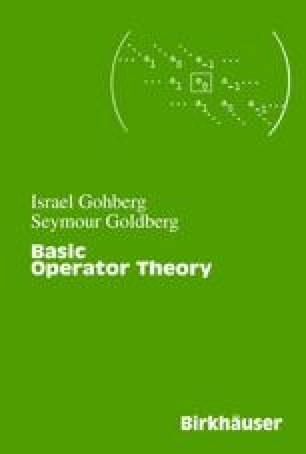 Basic Operator Theory