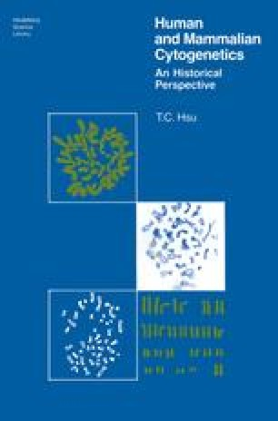 Human and Mammalian Cytogenetics