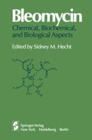 Bleomycin: Chemical, Biochemical, and Biological Aspects